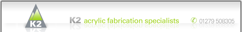K2 | acrylic fabrication specialists logo